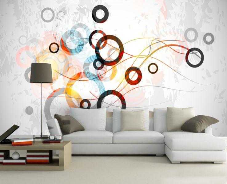 Standard Custom Size Wallpaper For Interior Wall Decor